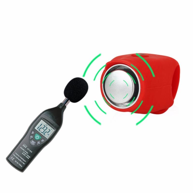 Klaxon-electrique-a-velo-VTT-VTT-Velo-de-route-Guidon-Sonnerie-d-039-alarme-J4C1 miniature 9