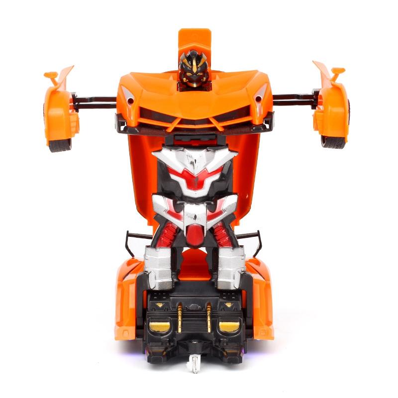 1-18-Transformadores-Coche-de-control-remoto-inalambrico-Juguete-para-ninos-F6C4 miniatura 18
