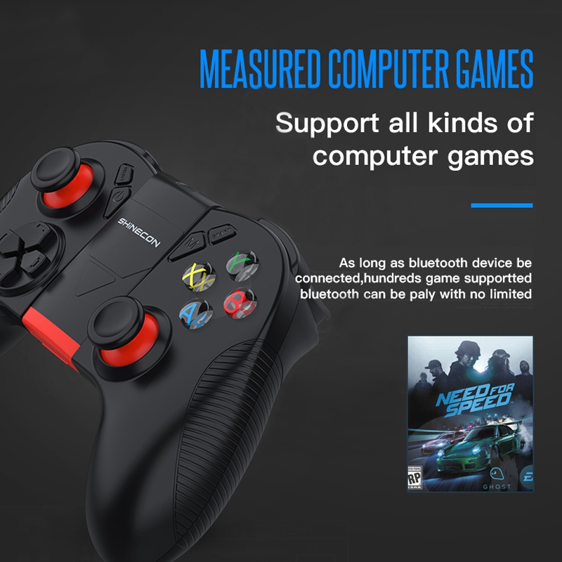 Details about B04 Wireless Bluetooth Gamepad Remote Game Controller  Joystick For PUBG USDT