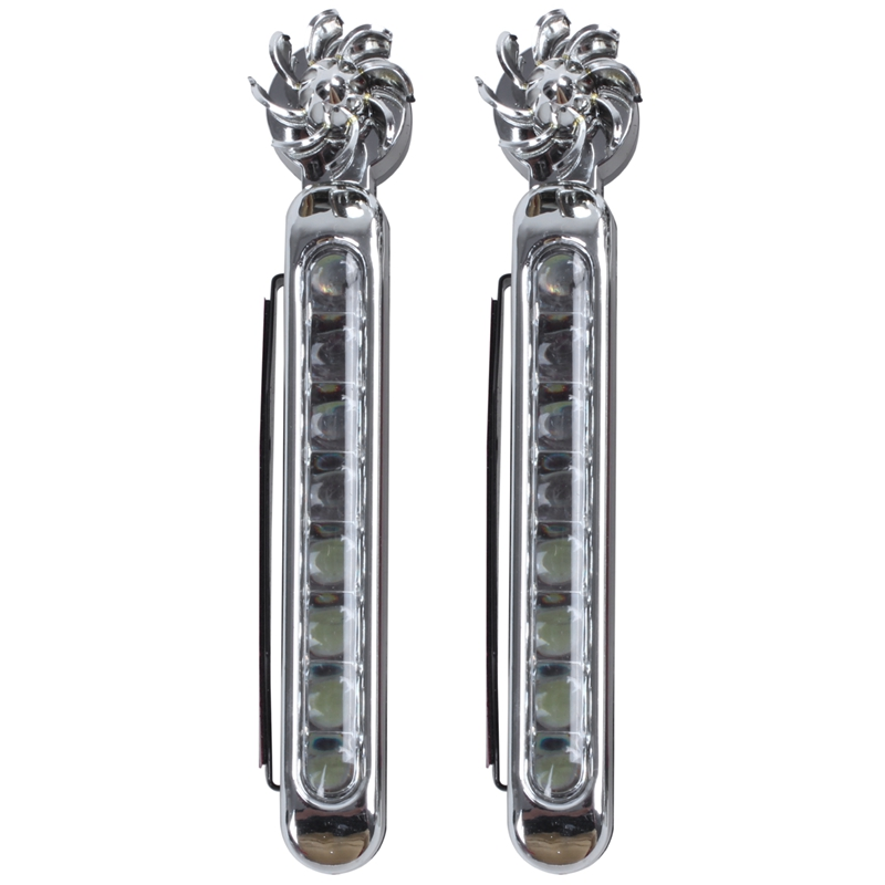 2-X-Feux-de-Jour-Utilise-energie-eolienne-Auto-Lampe-DRL-Diurne-de-Condui-W7V1